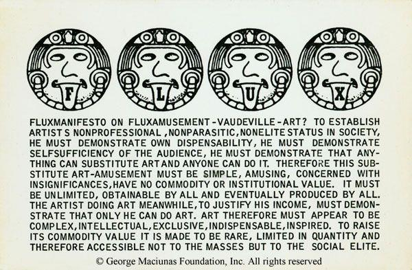 Fluxmanifesto