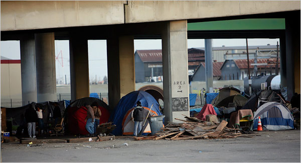 tent city california