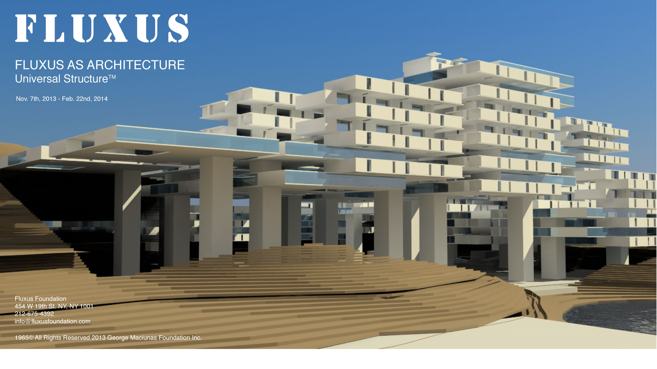 FLUXUS AS ARCHITECTURE_Poster5
