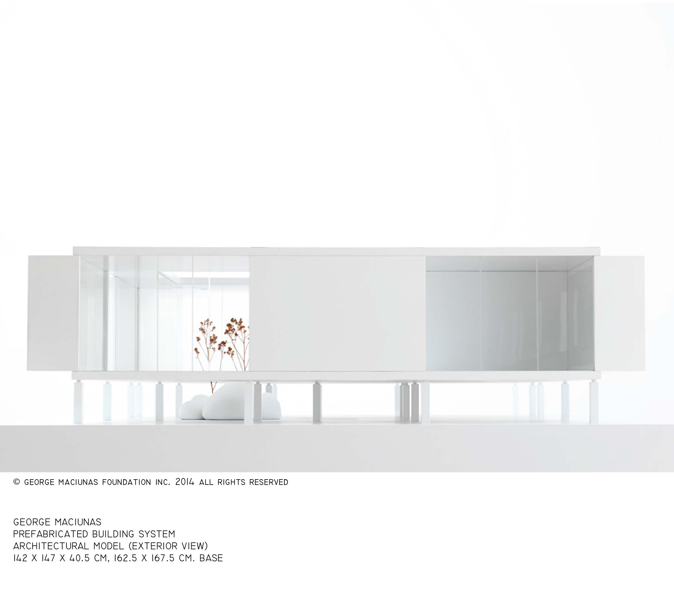 FLUXHOUSE ARCHITECTURAL MODEL (1)