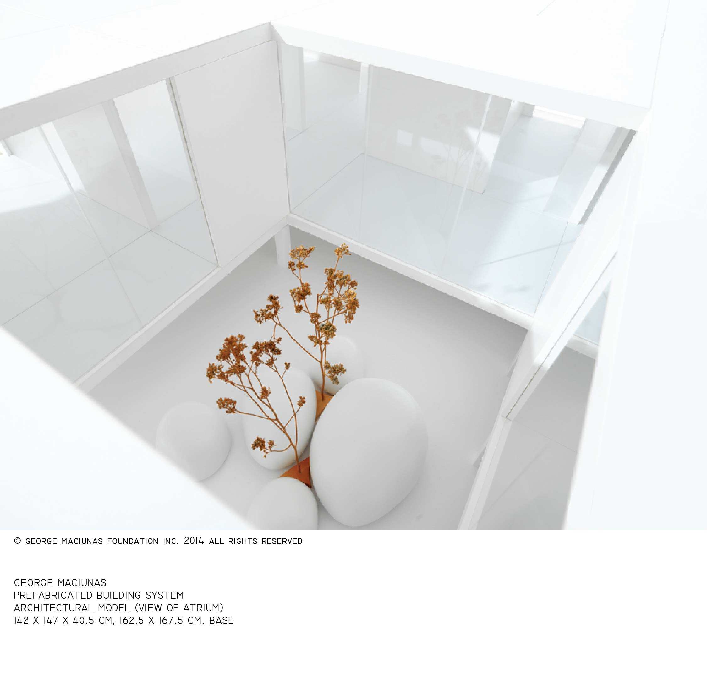FLUXHOUSE ARCHITECTURAL MODEL (2)