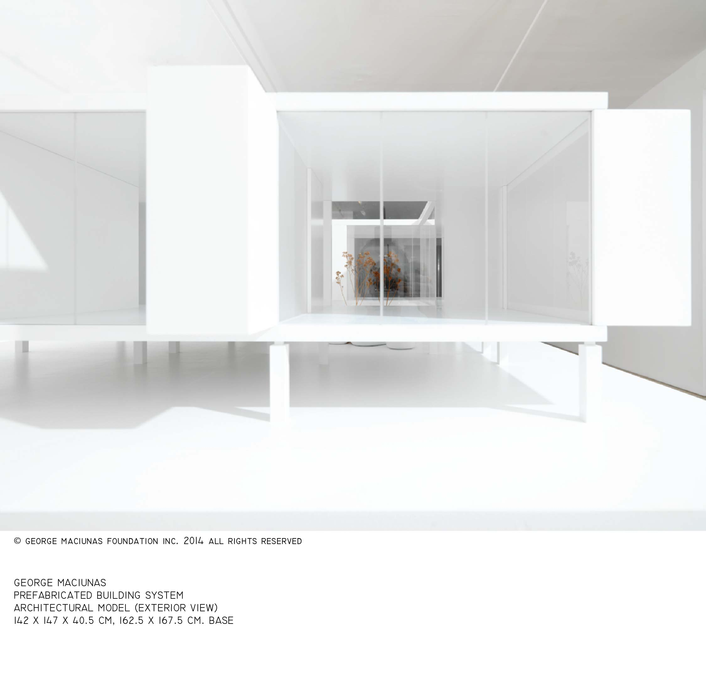 FLUXHOUSE ARCHITECTURAL MODEL (4)