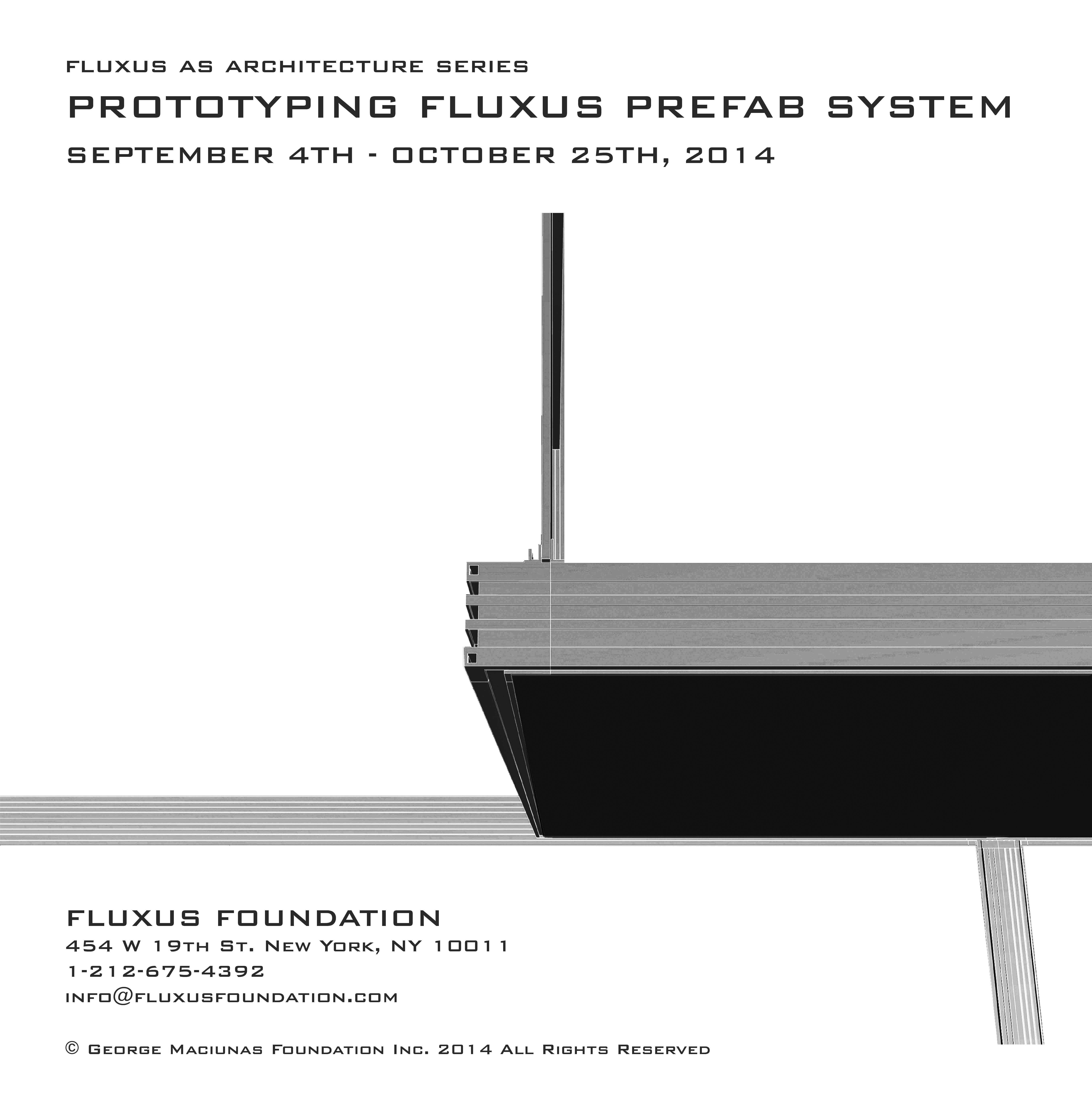 Poster_Prototyping Fluxus Prefab System