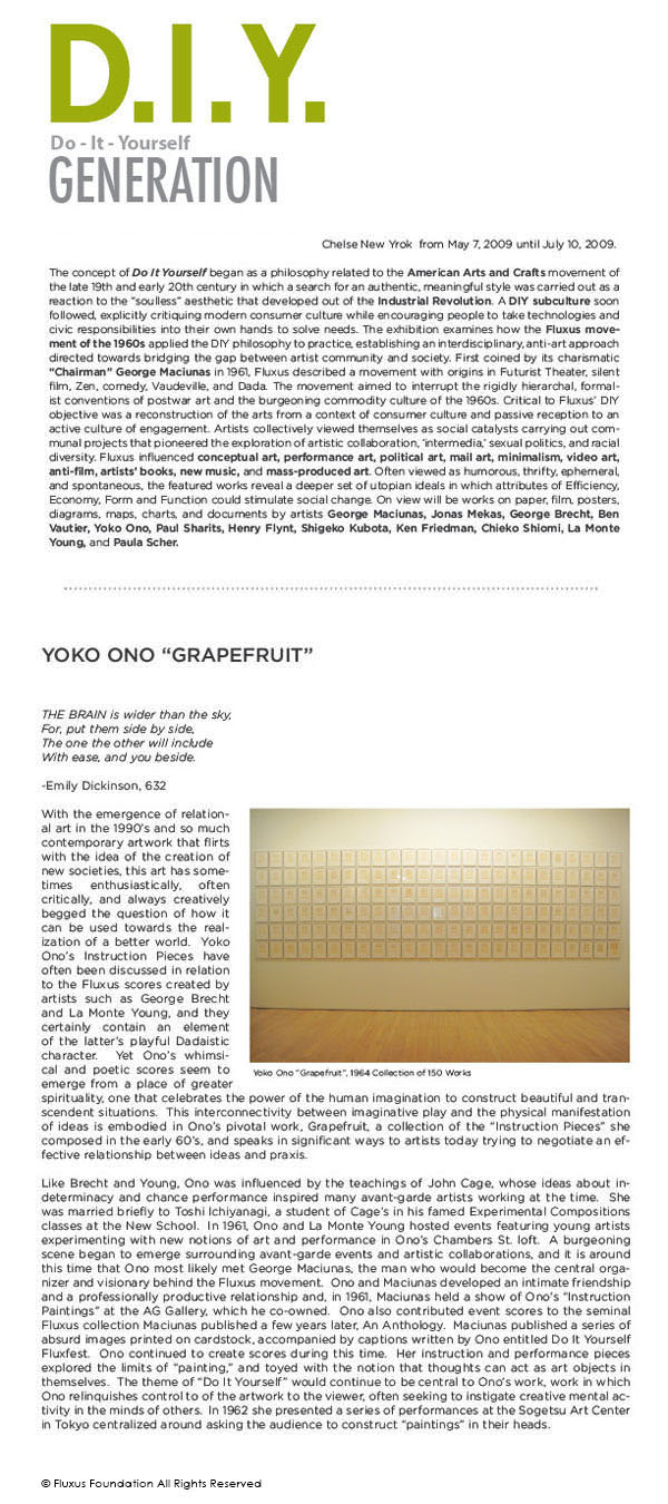 Fluxus foundation archive yoko ono how to write a persuasive essay fluxus foundation archive yoko ono solutioingenieria