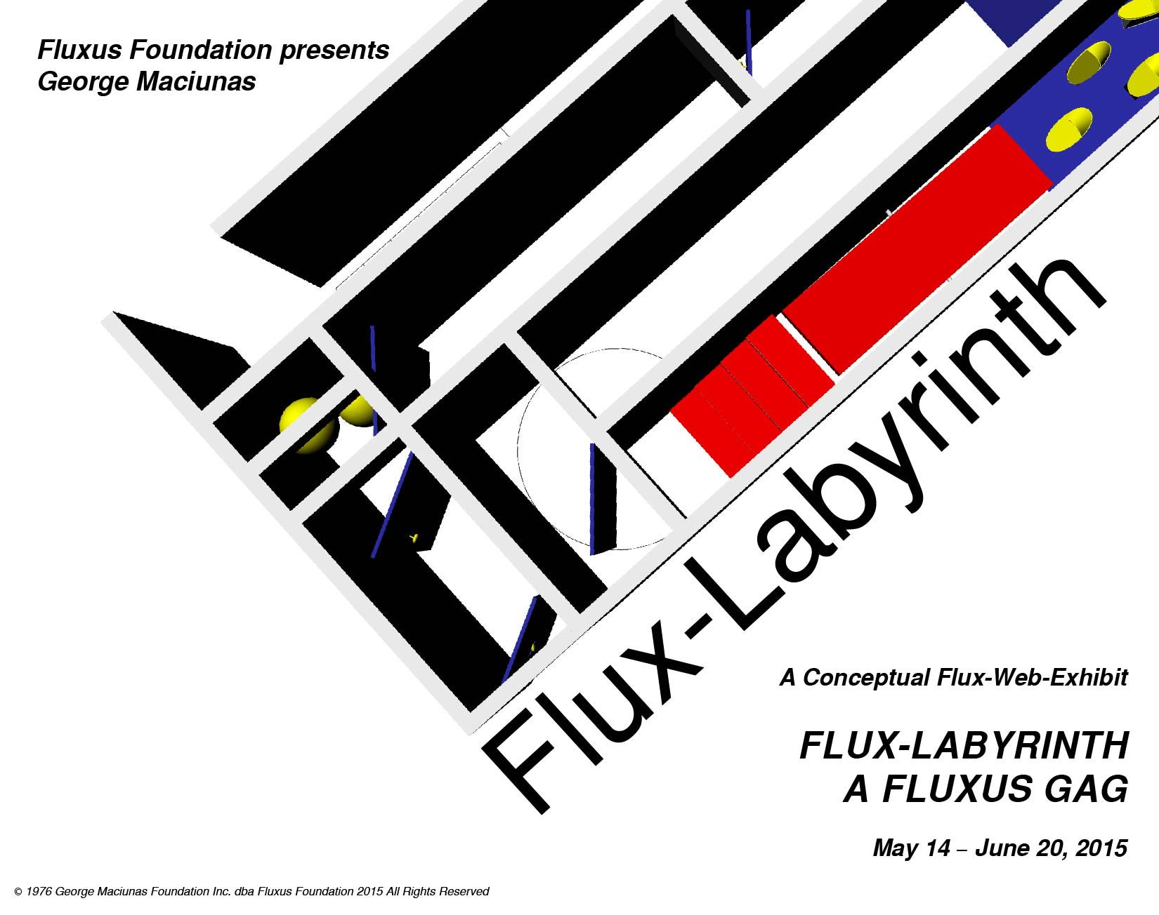 Poster_FluxLabyrinth_Fluxus Foundation